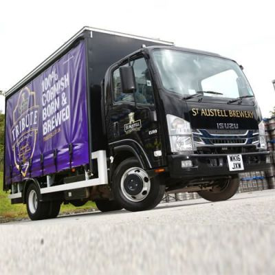 Isuzu N75 Trucks For Drinks Couriers
