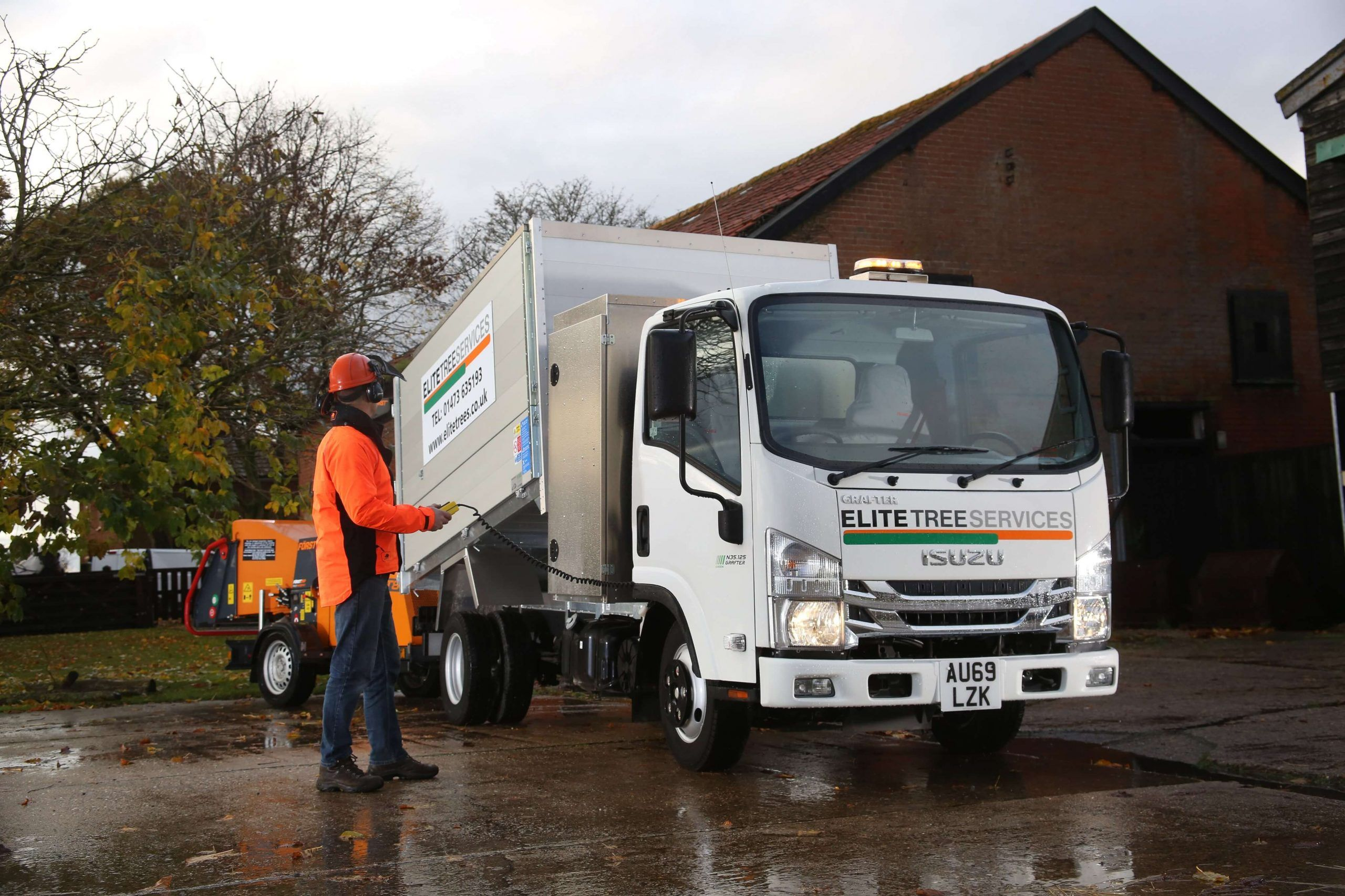 Isuzu Grafter N35 Trucks For Tree Surgeons
